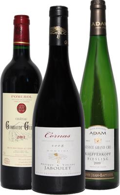 Le Comptoir des Cépages - Nos vins